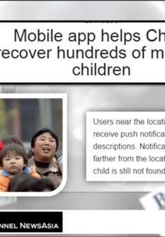 Ứng dụng giúp Trung Quốc tìm thấy hàng trăm trẻ em mất tích
