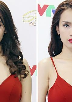 Ái Phương nổi bật với đầm đỏ gợi cảm ở Sài Gòn đêm thứ 7