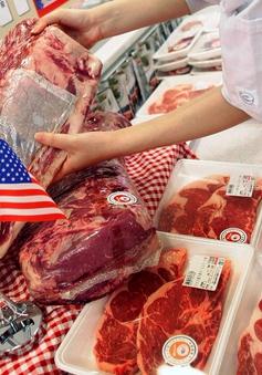 Nhật Bản đánh thuế khẩn cấp thịt bò Mỹ