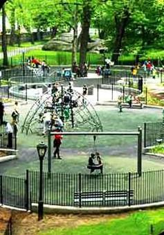 Sân chơi cho trẻ em không thể thiếu trong quy hoạch tại New York