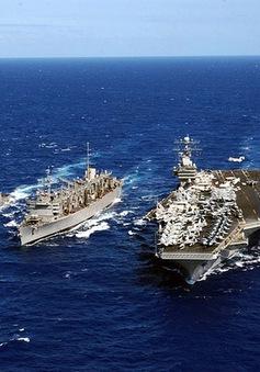 Tàu sân bay Mỹ tuần tra trên Biển Đông
