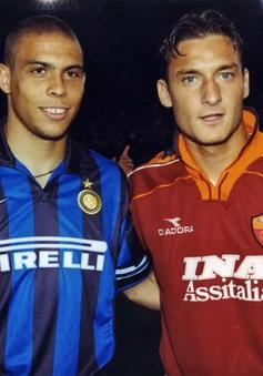 Real suýt có song sát đáng sợ nhất thế giới Ronaldo - Totti