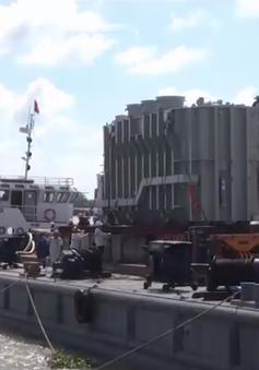 Vận chuyển máy biến áp đến Nhà máy nhiệt điện Sông Hậu 1