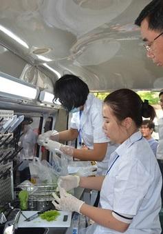 Tối thiểu 50% cơ sở thực phẩm ở xã, phường bị kiểm tra chuyên ngành ATTP