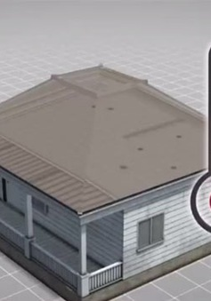 Phát minh tấm phim phủ có thể làm mát tòa nhà