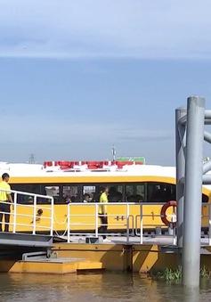 Cháy vé tuyến bus đường sông ở TP.HCM