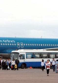 Vietnam Airlines điều chỉnh kế hoạch khai thác do ảnh hưởng của bão số 10
