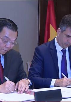 Việt Nam - Israel cam kết kim ngạch thương mại 3 tỷ USD mỗi năm