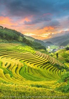 Thiên nhiên trong trẻo của Việt Nam giữa trời thu