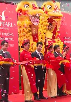 Phó Thủ tướng Vương Đình Huệ dự khai trương khách sạn Vinpearl Hà Tĩnh
