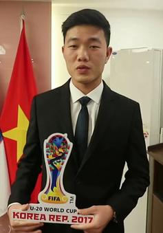 VIDEO: Từ Hàn Quốc, Xuân Trường chúc U20 Việt Nam thi đấu thắng lợi tại World Cup 2017
