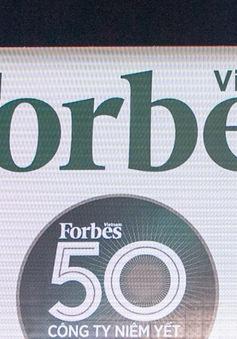 Forbes công bố top 50 doanh nghiệp xuất sắc