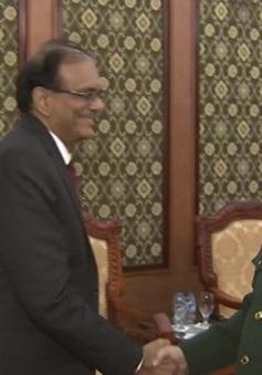 Thúc đẩy quan hệ quốc phòng Việt Nam - Ấn Độ