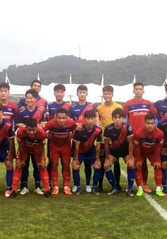 U22 Việt Nam ngược dòng thắng Busan FC 6-1 trước khi dự SEA Games 29