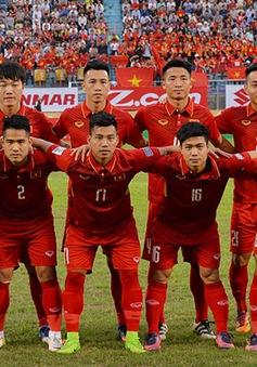 Đội tuyển Việt Nam giữ nguyên vị trí trên bảng xếp hạng FIFA