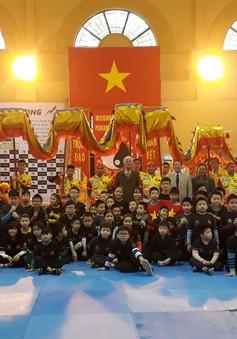 Rèn luyện võ thuật - bảo tồn giá trị văn hòa dân tộc