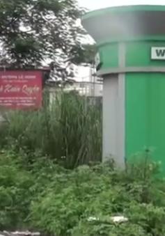 Nhà vệ sinh công cộng ở Hà Nội trở thành nơi tiêm chích