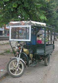 Hà Nội: Cả thành phố chỉ  30 xe ba bánh được cấp phép