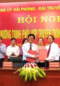 VTV và TP Hải Phòng ký kết chương trình phối hợp truyền thông