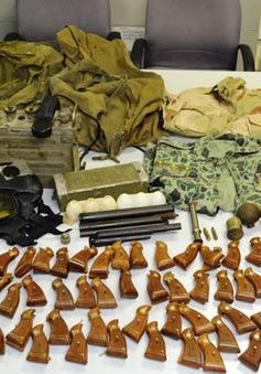 TP.HCM bắt một hành khách mang vũ khí quân dụng lên máy bay