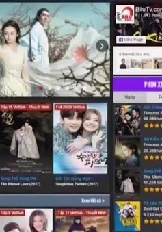Website phim lậu lấn át phim có bản quyền