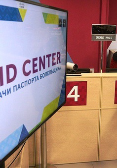 Nga mở 5 trung tâm phục vụ người hâm mộ World Cup 2018