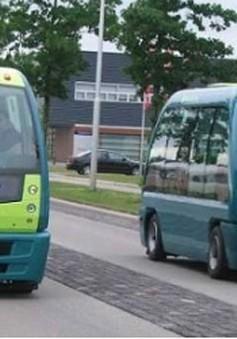 Singapore thử nghiệm xe bus không người lái