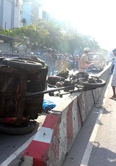 Tai nạn xe ba bánh làm 1 người thiệt mạng