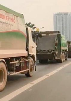 Hà Nội xử phạt lái xe rác đi vào làn bus nhanh BRT