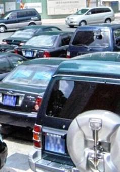 Hạn chế mua xe công trong năm 2019