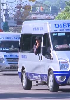 Xe dù hoạt động công khai tại Bình Định