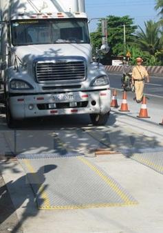 Tăng cường kiểm tra, kiểm soát, xử lý xe quá tải trọng