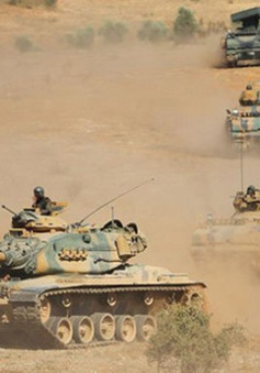 Thổ Nhĩ Kỳ tập trận gần biên giới Iraq