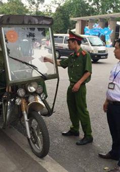 Hà Nội: Xử lý trên 200 trường hợp xe 3 bánh tự chế