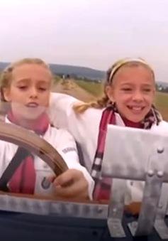 Độc đáo xe ô tô tự chế dành cho trẻ em