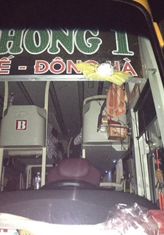 Kon Tum bắt đối tượng ném đá xe khách