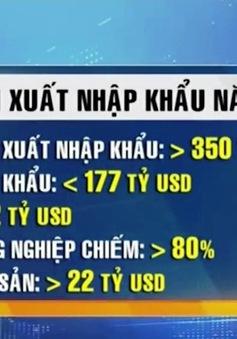 Kim ngạch xuất khẩu Việt Nam 2016 tăng gần 9% so với 2015