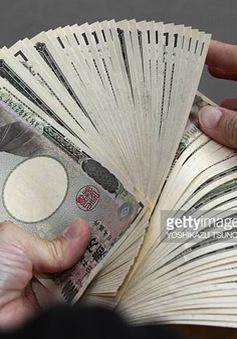 Yen Nhật giảm xuống mức thấp nhất trong vòng 3 tháng qua