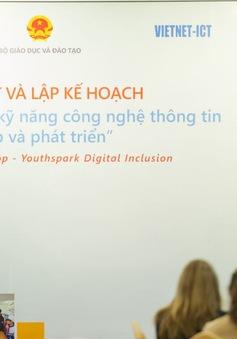Hơn 50.000 trẻ em vùng khó khăn tiếp cận chương trình tin học ứng dụng và khoa học máy tính
