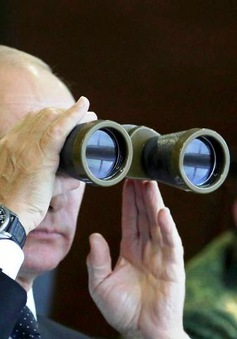 Tổng thống Putin thị sát tập trận chung Belarus Zapad 2017