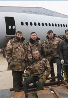 Nông dân Trung Quốc chi 120.000 USD làm bản sao Airbus 320