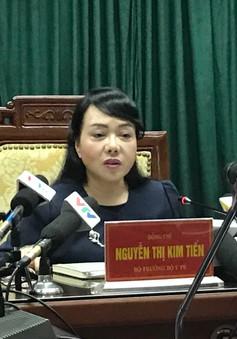 Bộ trưởng Bộ Y tế trăn trở vấn đề bảo đảm an toàn cho nhân viên y tế