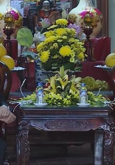 Chúc Tết Pháp chủ Giáo hội Phật giáo Việt Nam
