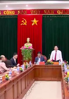 Đồng chí Võ Văn Thưởng thăm làm việc tại Quảng Trị