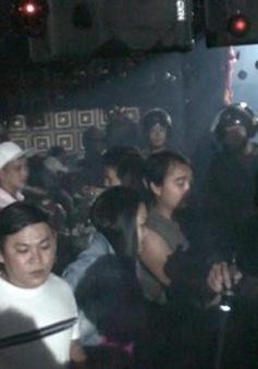Hàng chục dân chơi sử dụng ma túy trong quán bar ở TP Biên Hòa