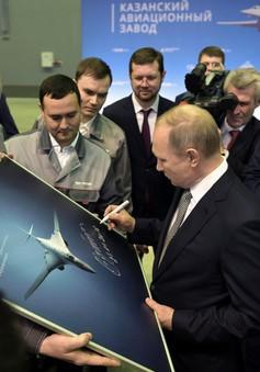 Nga hiện đại hóa máy bay ném bom TU-160M