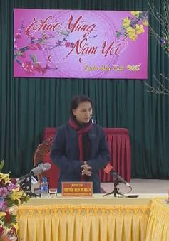 Chủ tịch Quốc hội thăm và làm việc tại Hà Giang