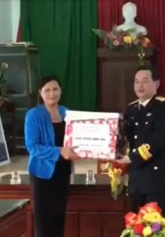 Bộ Tư lệnh vùng 3 Hải quân thăm chúc Tết đảo Lý Sơn, Quảng Ngãi