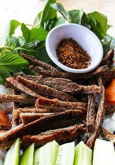 Món ngon Phương Nam: Đặc sản bò vàng Phú Yên