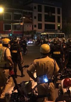 Xử lý gần 800 trường hợp vi phạm ATGT khi đi cổ vũ U23 Việt Nam